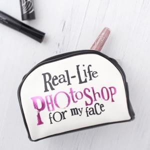 Real Life Photoshop Make Up Bag - £12.50