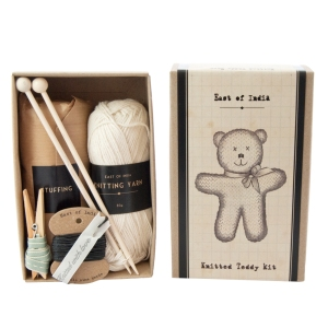 Knitted Teddy Bear Craft Kit