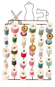 White spool holder 30 coils by KAM Snaps on DaWanda.com