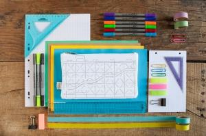 exclusive doodle pencil case for Pompidou Centre